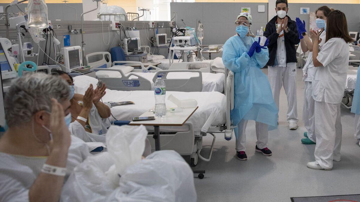 Madrid desciende de 600 hospitalizados a causa del covid por primera vez desde agosto