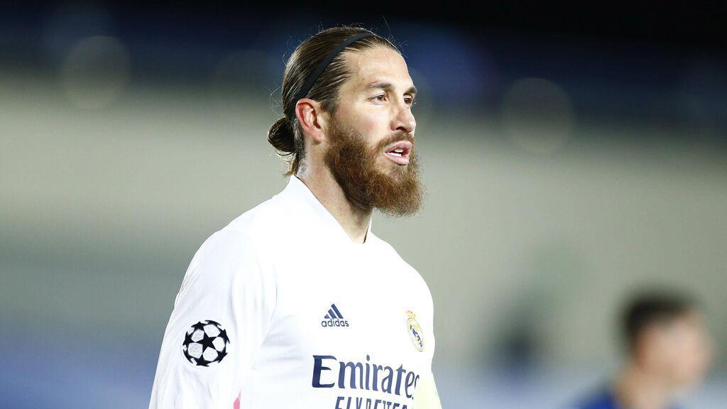 El gesto de Sergio Ramos que da a entender su salida del Real Madrid