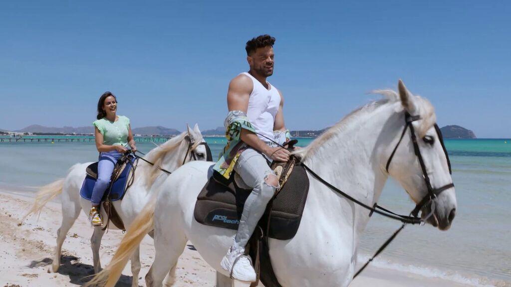 Paseo a caballo con Ricky Merino