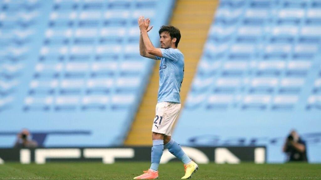 Despedida de David Silva del Manchester City