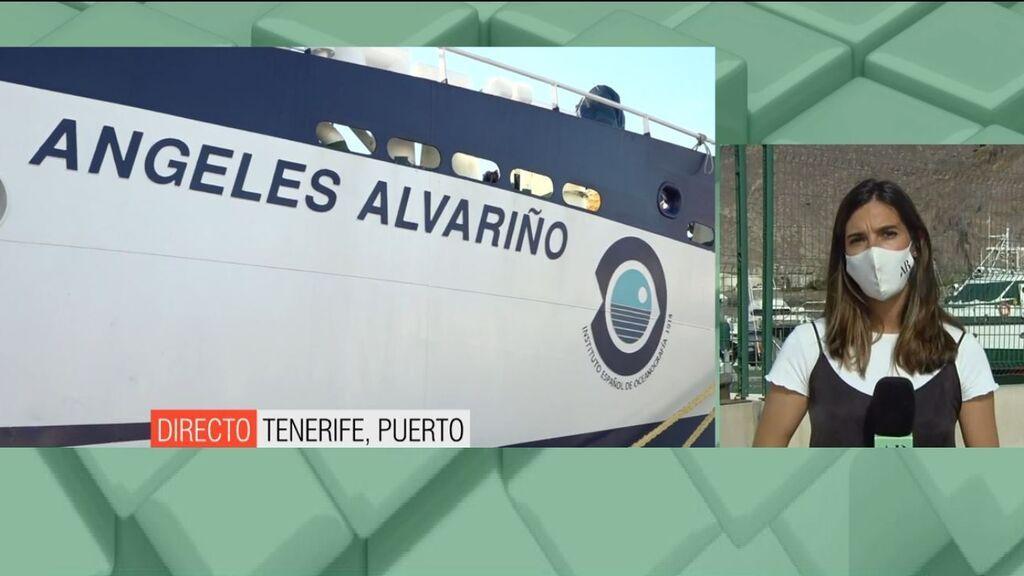 """Una pareja de guardias civiles acude hasta el buque: """"Es el mismo movimiento que con Olivia"""""""