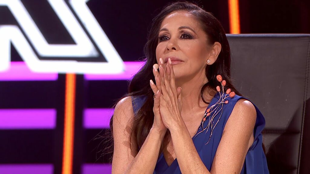 Isabel Pantoja saca las garras por 'Frank Sinatra' Top Star Temporada 1 Gala 5