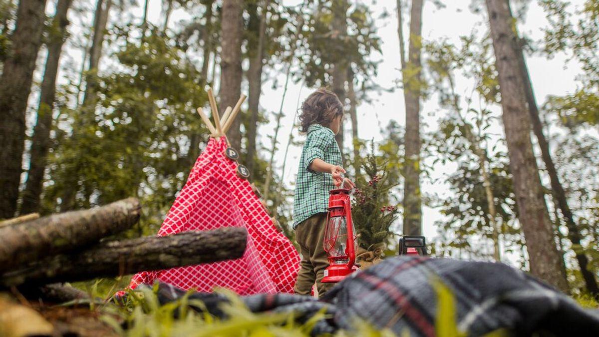 """Hallan en Tudela a una niña de 9 años acampada en una tienda a un kilómetro de su casa """"jugando tan ricamente"""""""