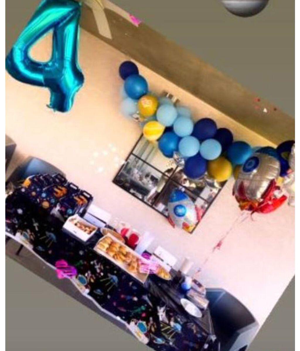 Fiesta del 4º cumpleaños de Chloe, la hija de Almudena Navalón y Manu Carrasco