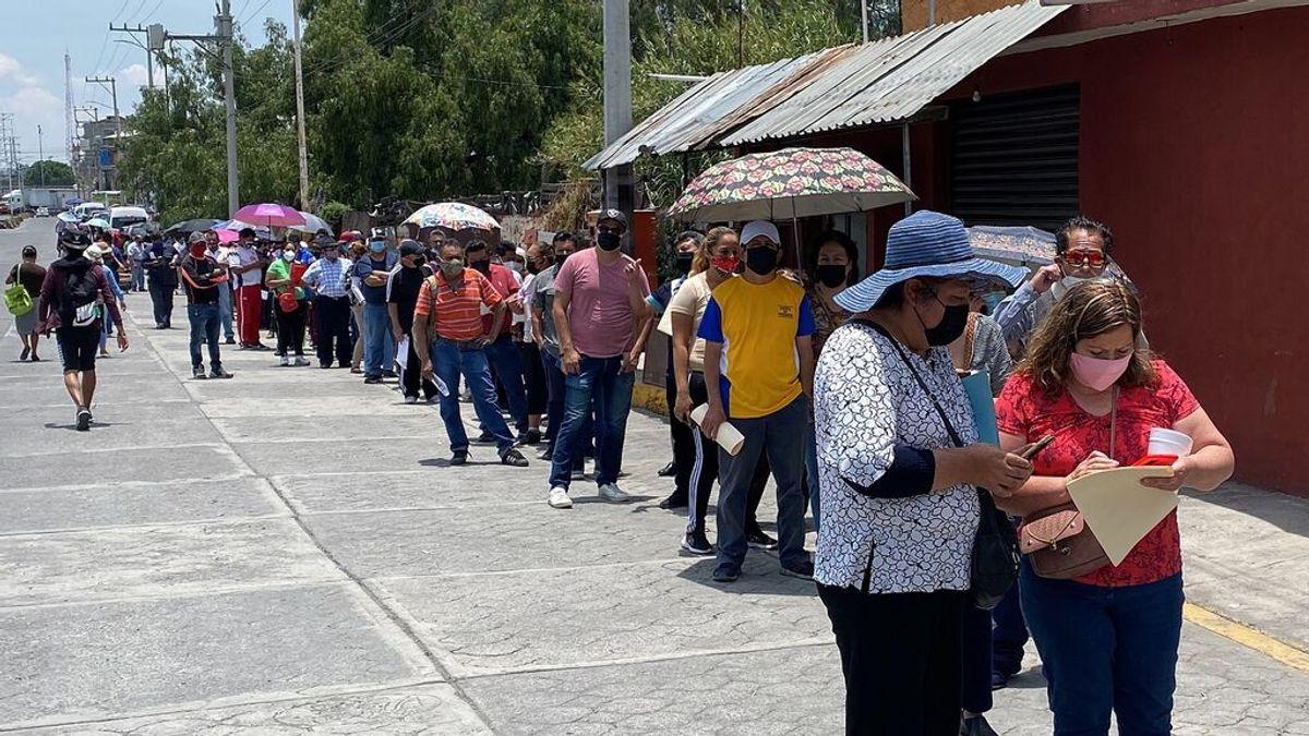 México indica que cerca de una cuarta parte de la población se ha contagiado de coronavirus