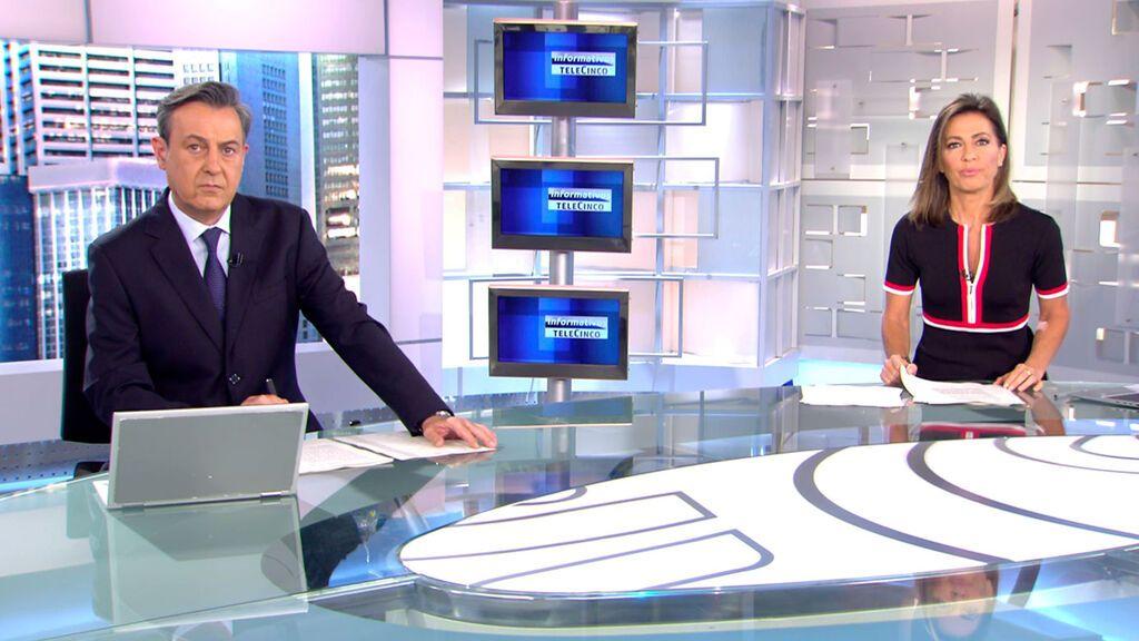 Con José Ribagorda y Ángeles Blanco Informativos Telecinco 2021 Mediodía 12/06/2021