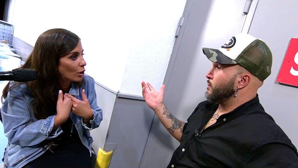 El cara a cara entre Kiko Rivera y Anabel Pantoja Viernes Deluxe 2021 Programa 646