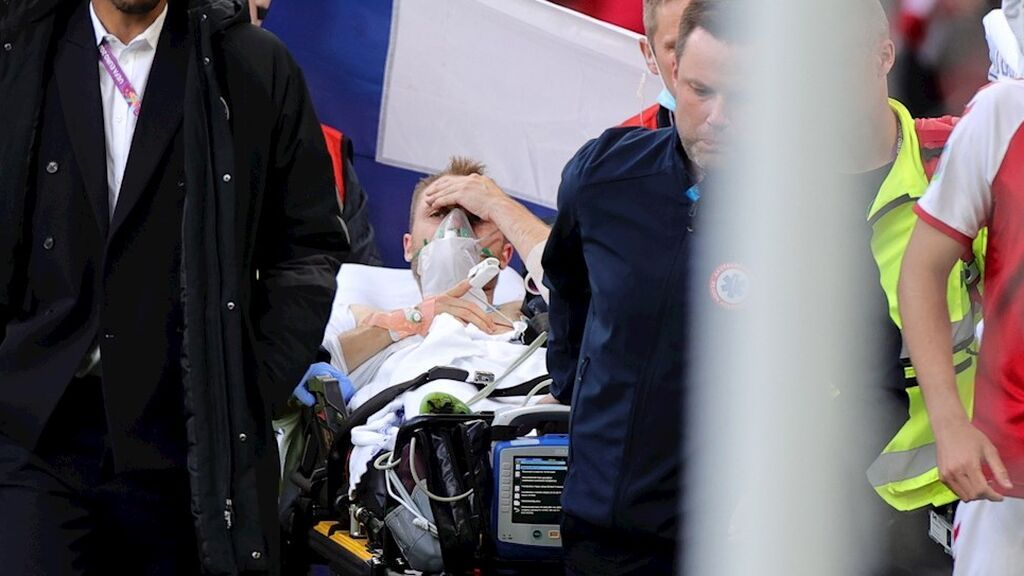 El Dinamarca-Finlandia se reanuda tras confirmarse que Eriksen está despierto y estable