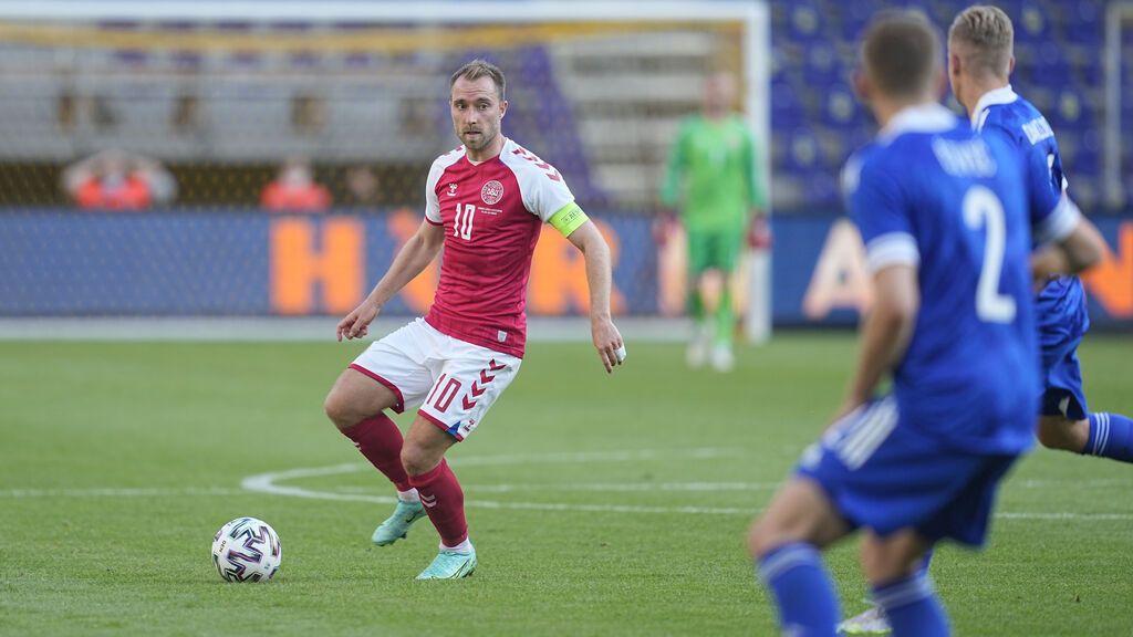 Eriksen, el jugador danés que ha caído desplomado en mitad de un partido de la Eurocopa
