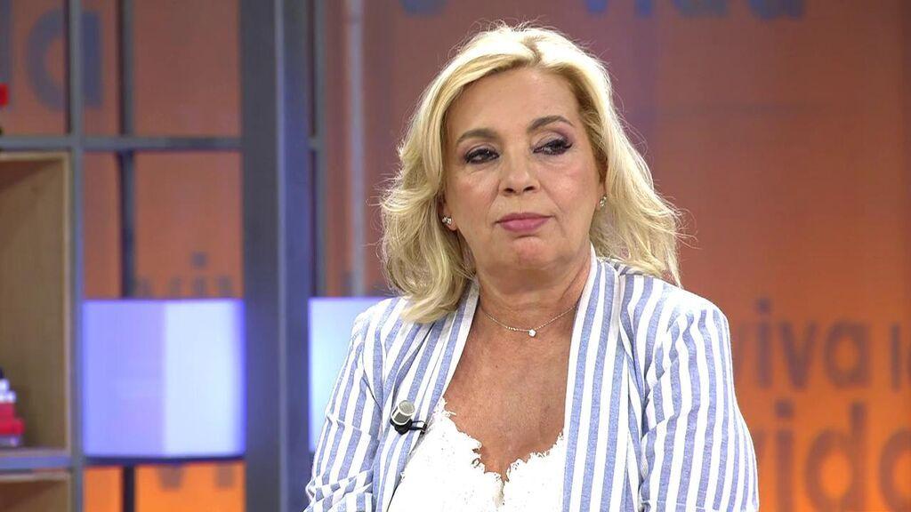 Carmen Borrego responde a Gabriela Arrocet