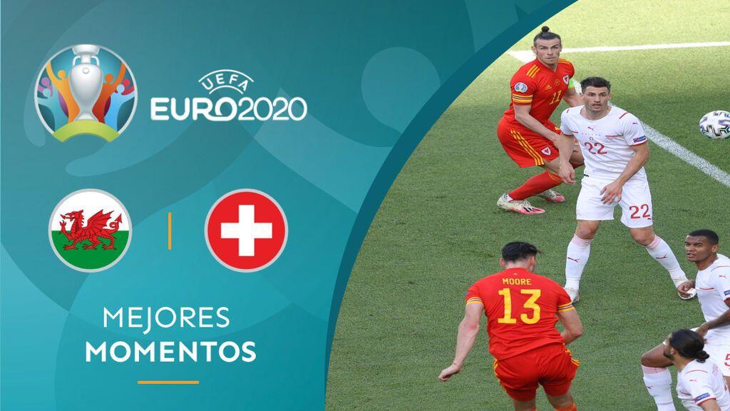 Embolo y Moore ponen los goles en el empate entre Suiza y Gales en la Eurocopa (1-1)