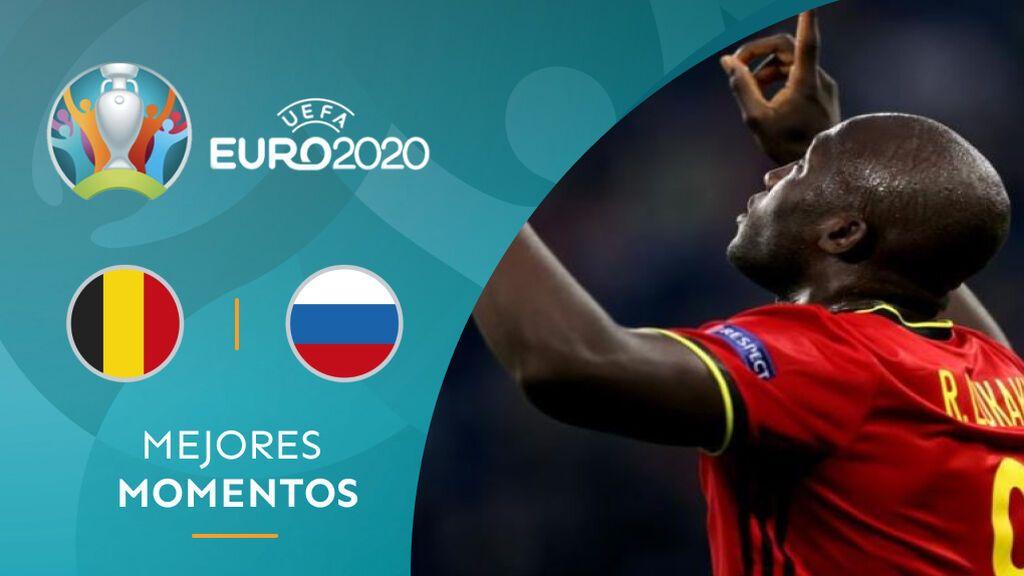 Bélgica se postula para ganar la Eurocopa gracias a los errores defensivos de Rusia (2-0)