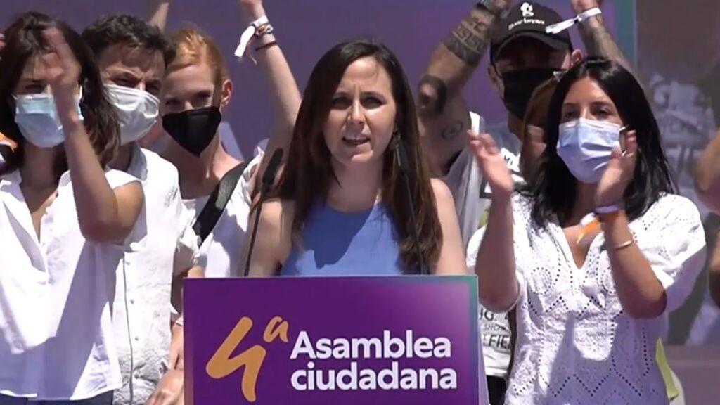 Ione Belarra, elegida nueva secretaría general de Podemos con el 85,61% de los votos