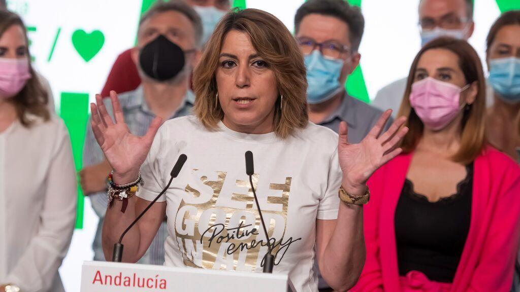 Susana Díaz quiere seguir como secretaria general del PSOE-A hasta el congreso y no aspirará a la reelección