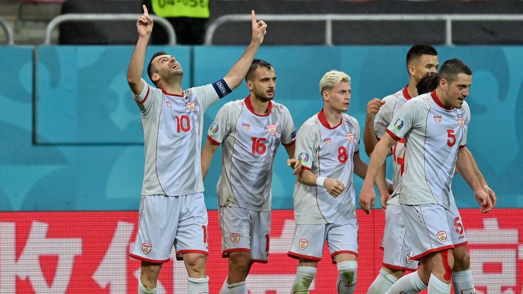Pandev marca un gol histórico para Macedonia y pone el empate ante Austria (1-1)