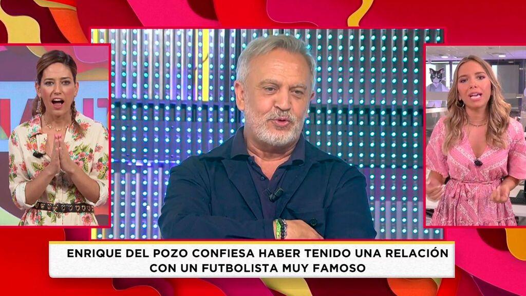 Enrique del Pozo confiesa haber tenido una relación con un famoso futbolista Socialité 2021 Programa 462