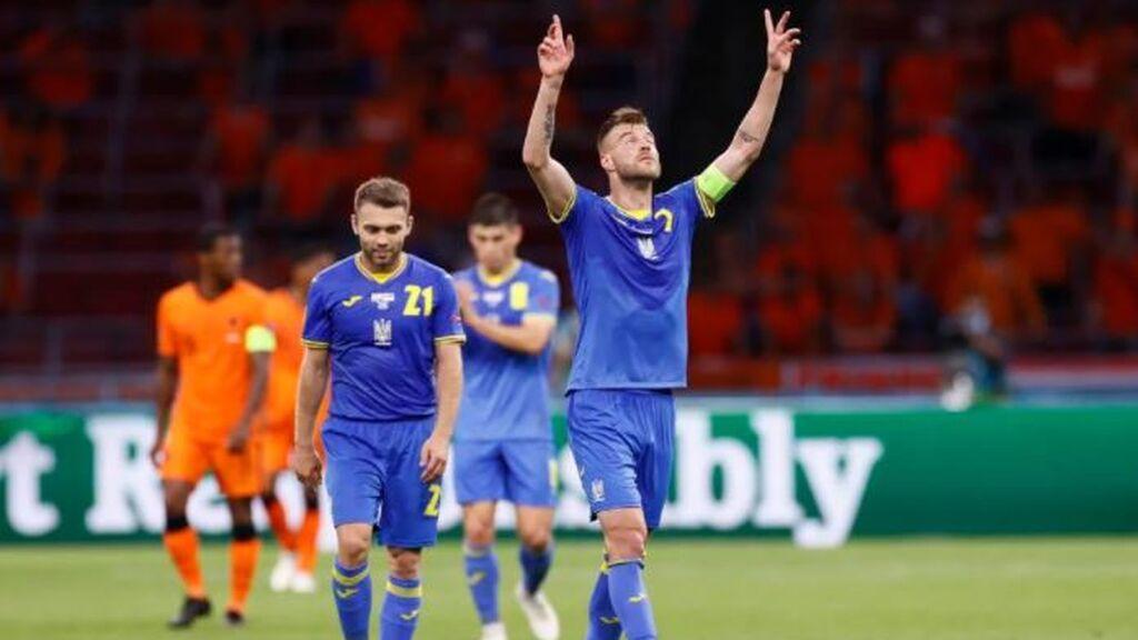Yarmolenko anota el que será el gol de la Eurocopa: Ucrania metía presión a Países Bajos (2-1)