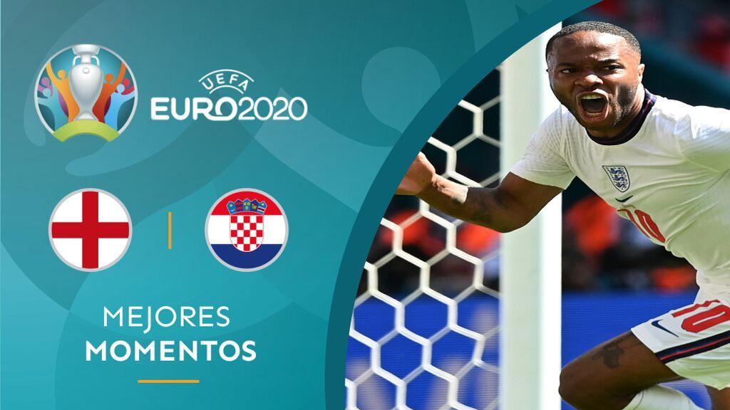 Inglaterra cumple en su estreno en Wembley y gana a Croacia con un solitario gol de Sterling (1-0)