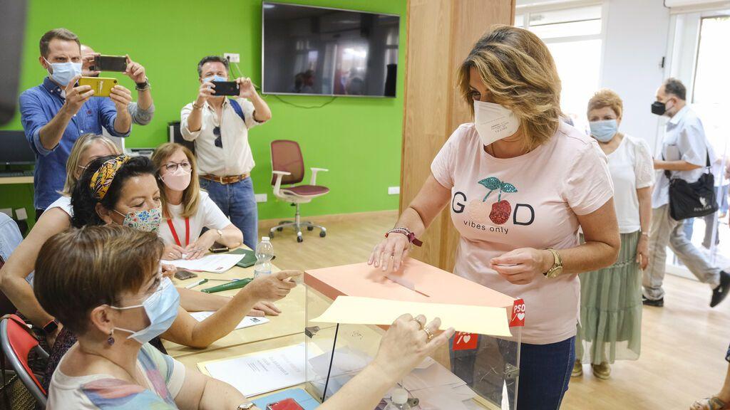 Susana Día llama a un voto en defensa de la libertad y la dignidad andaluza en las primarias del PSOE andaluz