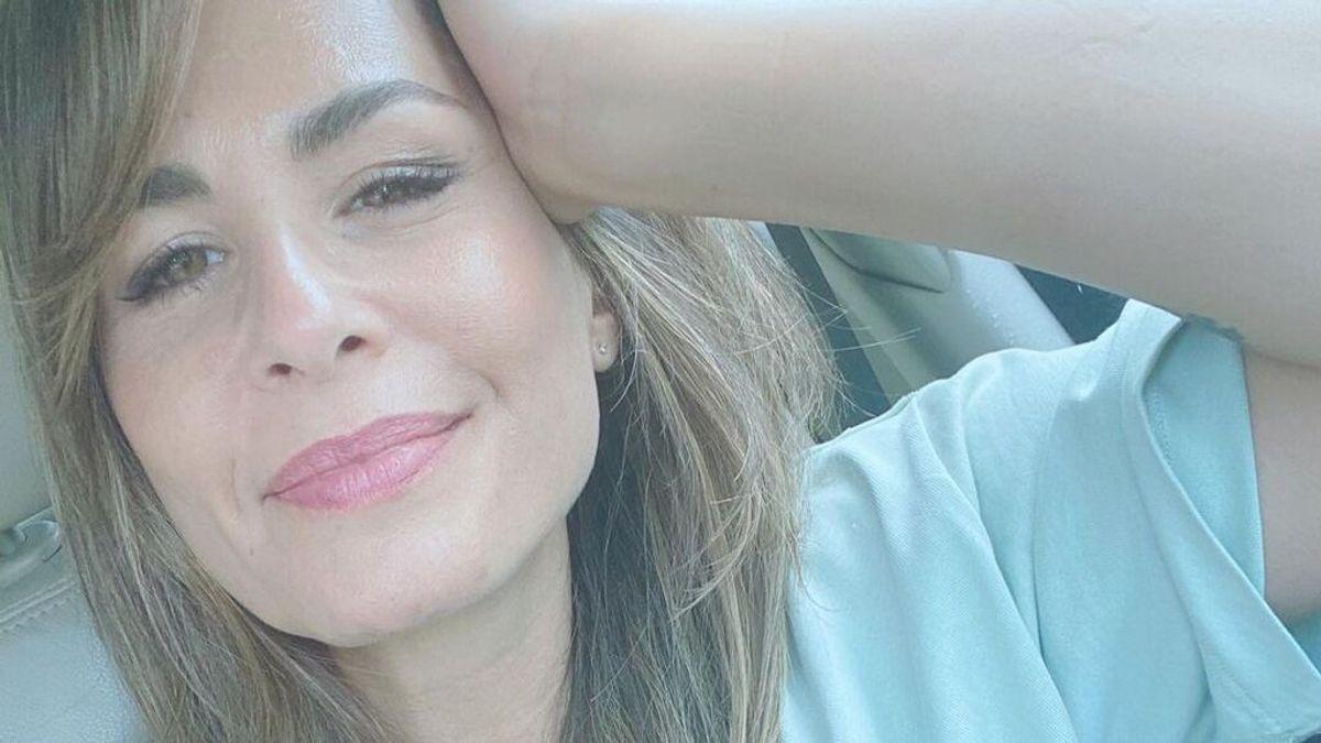 """Nuria Roca recibe el alta y explica el motivo de su ingreso: """"Estoy bien"""""""