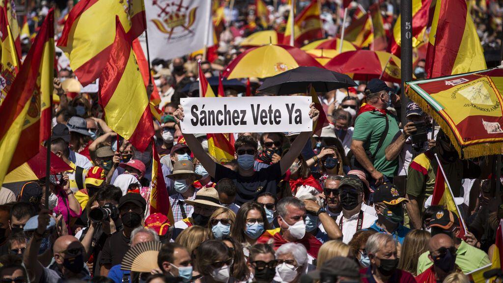 El 'basta ya' de Colón contra los indultos de Sánchez a los presos del 'procés'