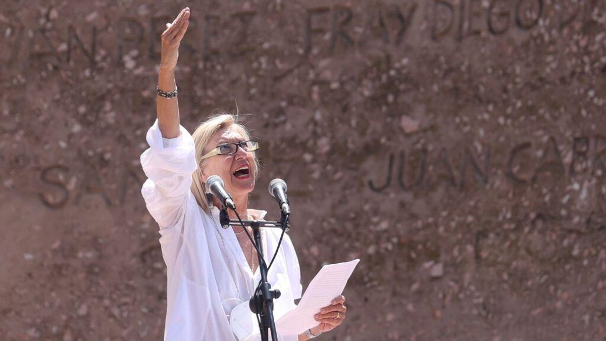 El discurso de Rosa Díez durante la concentración de Colón contra los indultos