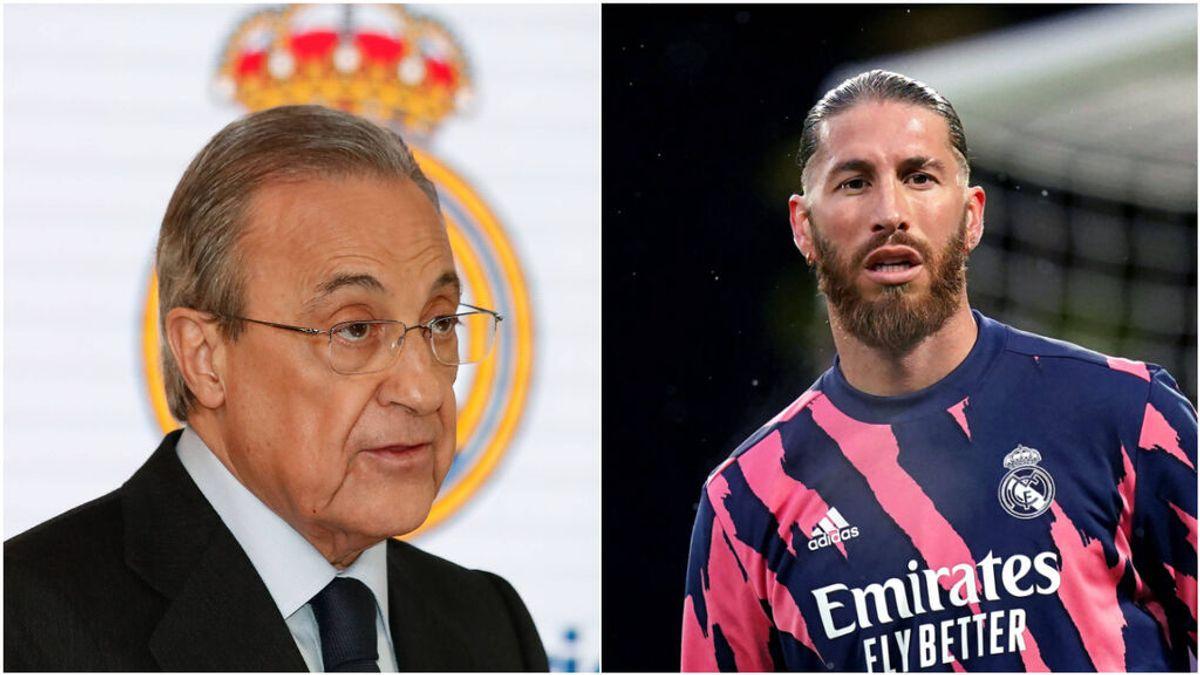 Tregua entre Sergio Ramos y Florentino Pérez: el encuentro a dos bandas en Valdebebas