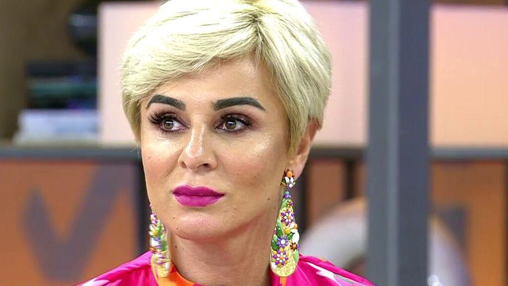 Ana María Aldón, preocupada por el estado de salud de Ortega Cano