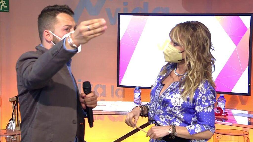 José Antonio Avilés estalla y Emma García se enfada con él