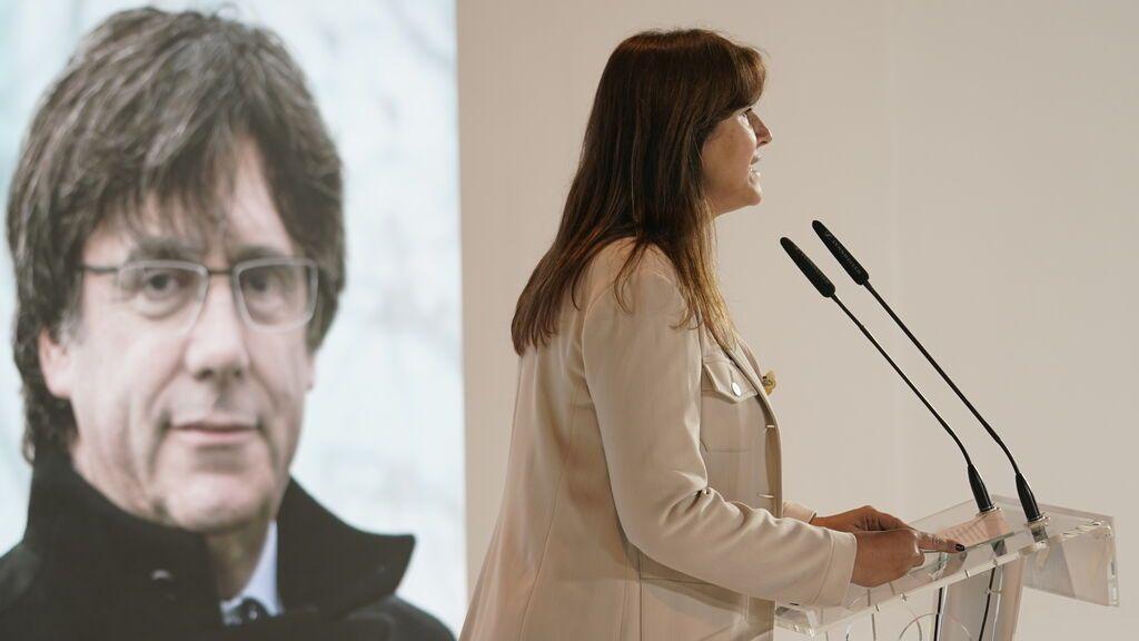 """La manifestación de Colón es """"un acto de venganza"""" según Borràs, presidenta del Parlament"""