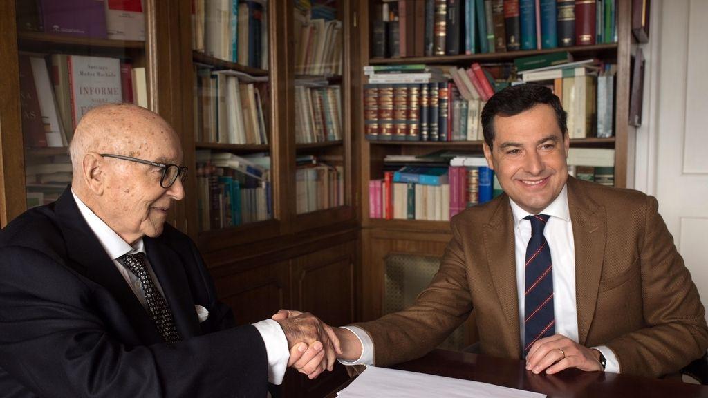 Fallece el exministro de la UCD Manuel Clavero Arévalo, Hijo Predilecto de Andalucía