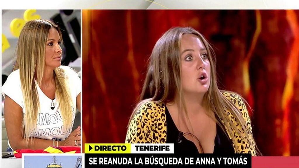 Marta López vuelve a dar la cara por Olga Moreno