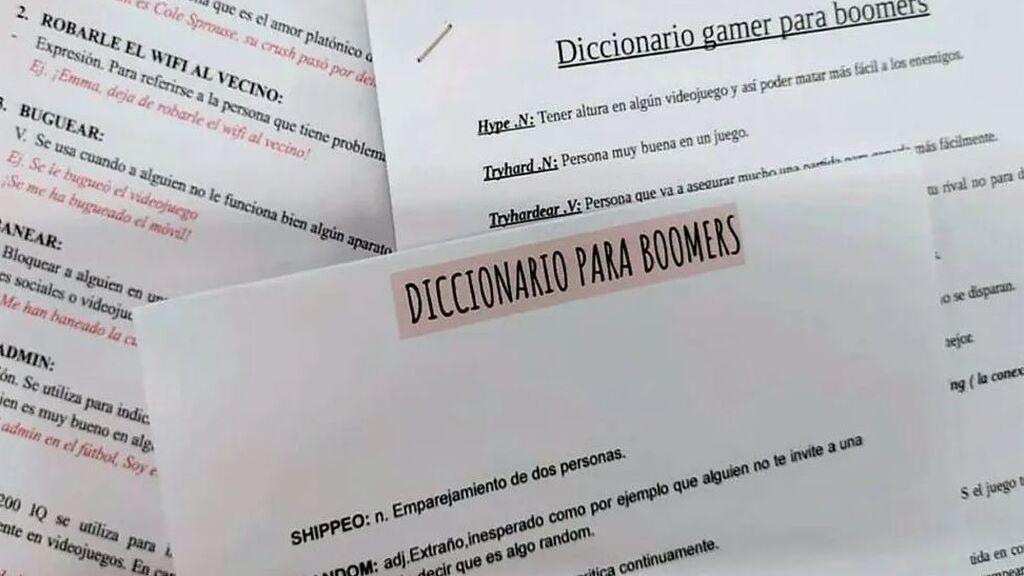 Unos adolescentes recopilan el primer diccionario 'boomer' -generación Z / generación Z - 'boomer'
