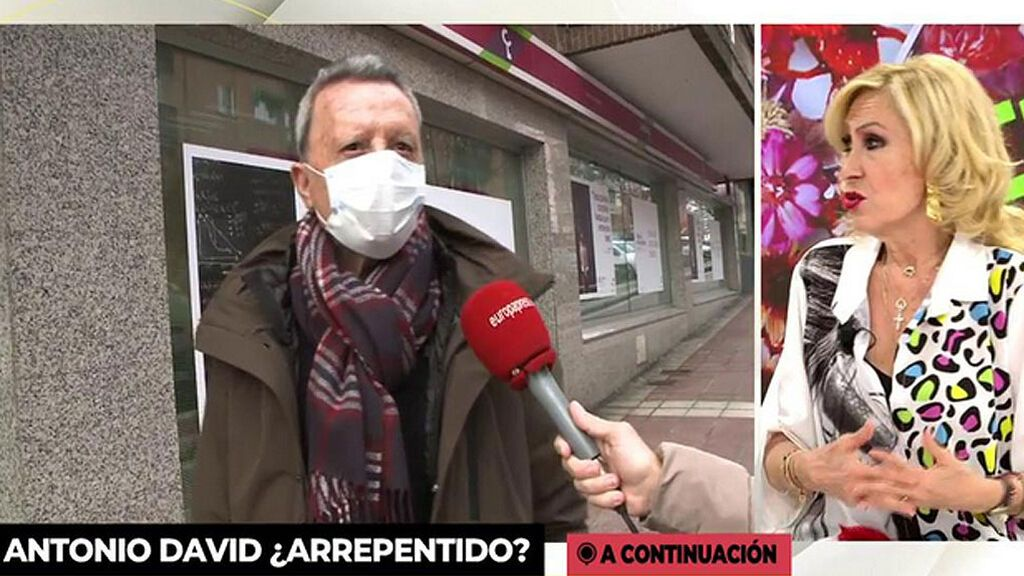 Rosa Benito lanza un mensaje a Ortega Cano antes de entrar en quirófano