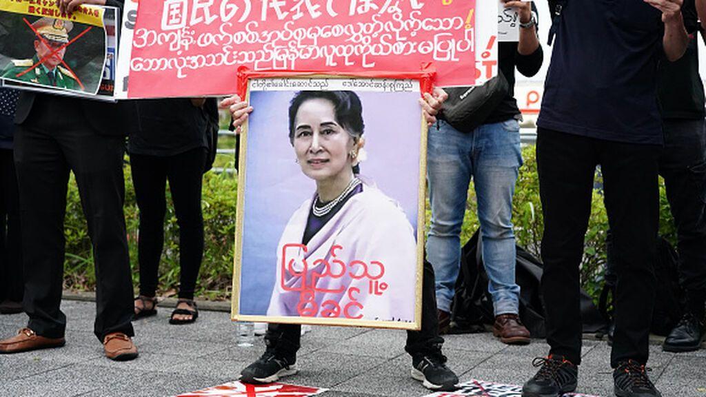 Hoy comienza el primer juicio contra la premio Nobel  Aung San Suu Kyi en Birmania