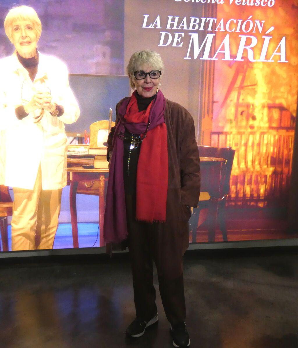 Concha Velasco, en la presentación de 'La habitación de María'