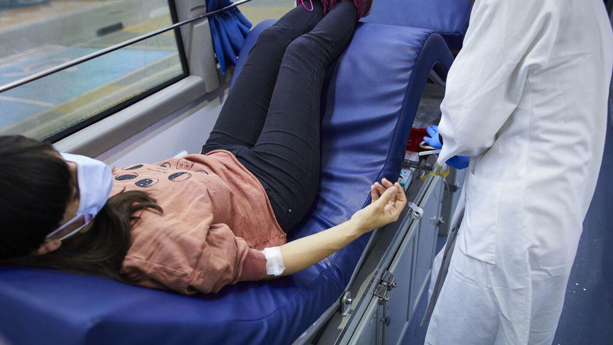Más de un millón de personas donaron sangre el año pasado pese a la pandemia