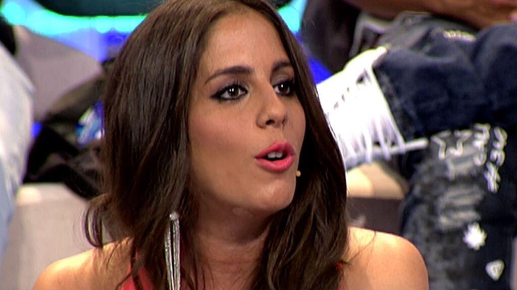 Anabel reacciona al compromiso de Isa Pantoja y Albalá