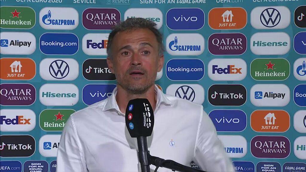 """Luis Enrique, en Fútbol Mediaset: """"Es difícil jugar en un campo así, los jugadores se han quejado en el vestuario"""""""