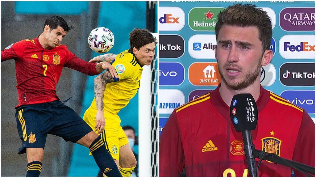 España se quedó sin marcar ante Suecia.