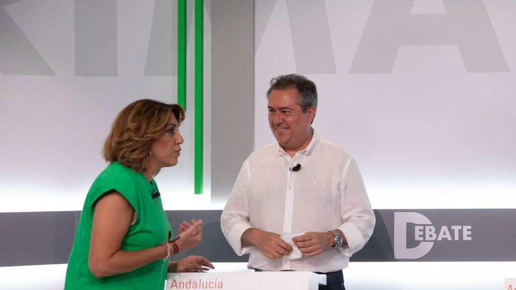 Ferraz celebra el triunfo de Espadas frente a una Susana Díaz que no dimite como secretaria general del PSOE-A