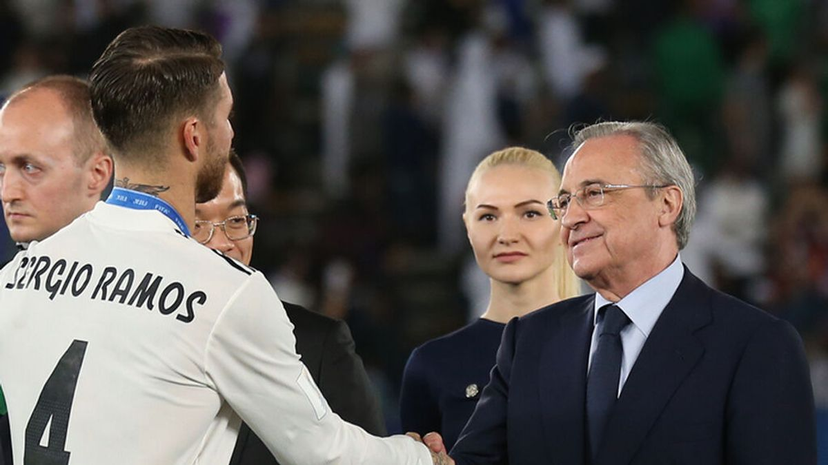 Sergio Ramos y Florentino Pérez vuelven al punto de partida de la negociación: el Madrid está dispuesto a mantenerle la oferta si ve al jugador receptivo