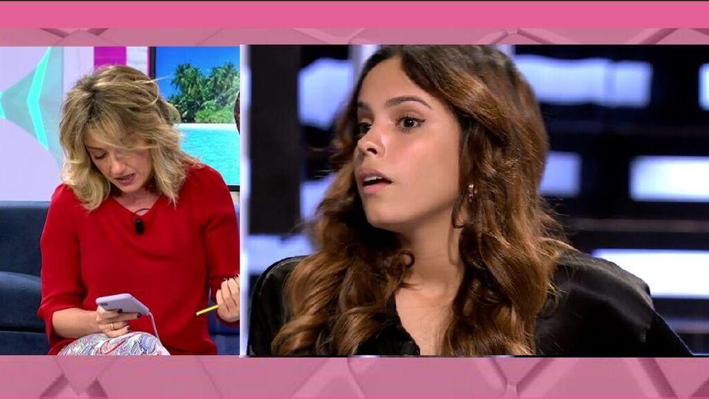Gloria Camila y su mensaje sobre su familia