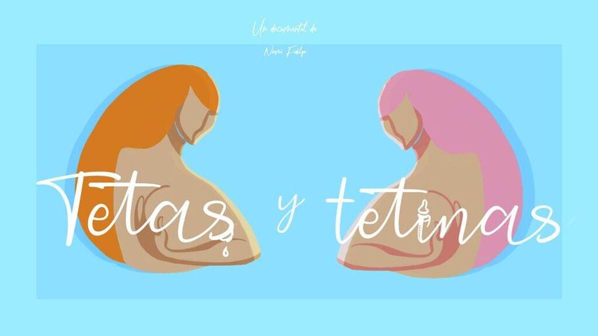 Mitele estrena 'Tetas y tetinas', documental sobre lactancia y empoderamiento femenino dirigido por Noemí Fidalgo