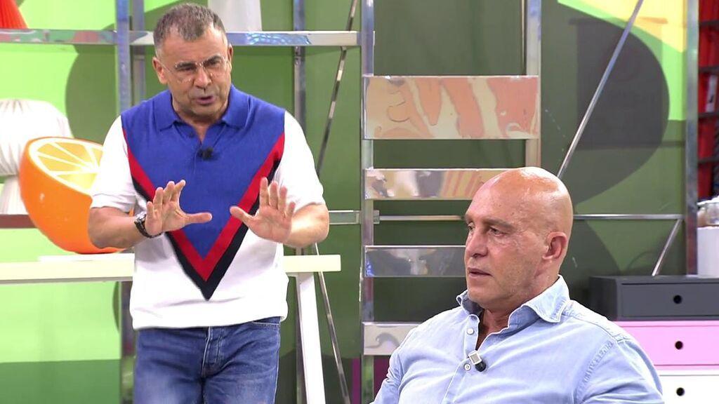 """Kiko Matamoros debate con Jorge Javier Vázquez sobre Antonio David Flores: """"No sé por qué vivís instalados en el negacionismo"""""""