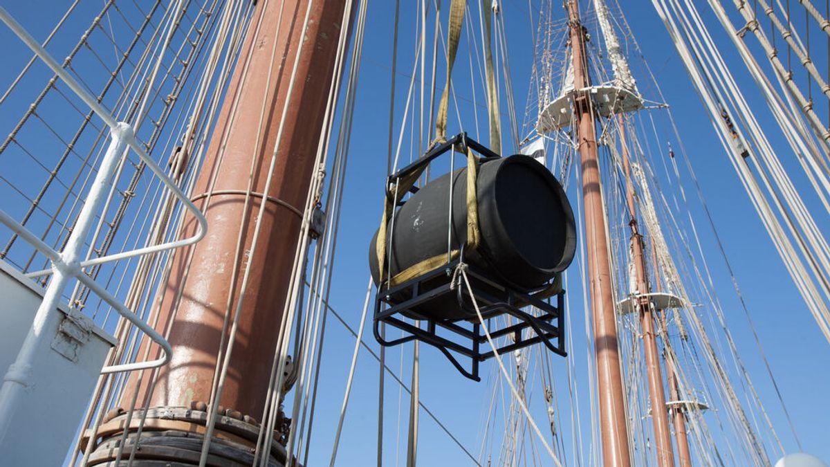 "Un vino de Jerez da la vuelta al mundo a bordo del Juan Sebastián Elcano: """