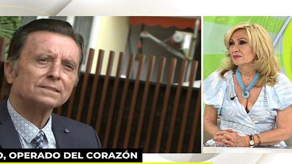 """Rosa Benito da la ultima hora sobre el estado de salud de Ortega Cano: """"Sus hermanos se están turnando para estar con él"""""""
