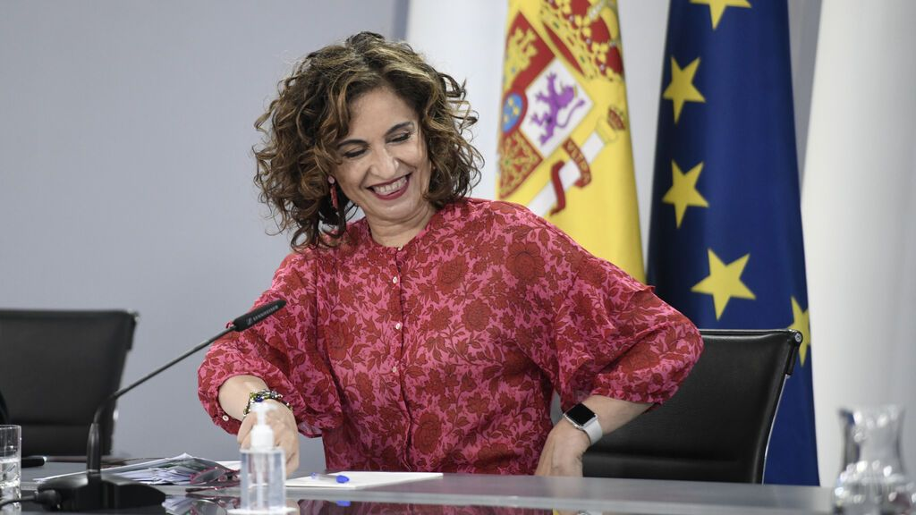 María Jesús Montero, minstra portavoz del Gobierno