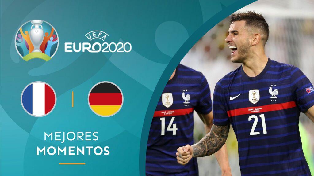 Francia ganó a Alemania para cerrar la primera jornada de la Eurocopa.