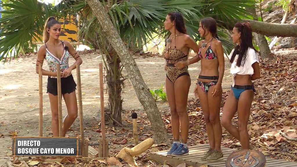 Lara Álvarez invita a los supervivientes a jugar más en equipo